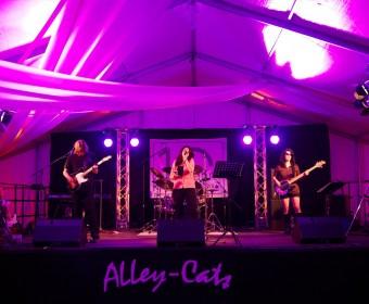 Die AlleyCats auf dem 10-jährigen Jubiläum der Firma ACSYS