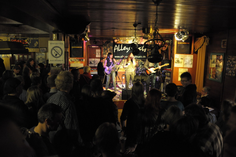 Die AlleyCats im Red River Saloon in Heilbronn